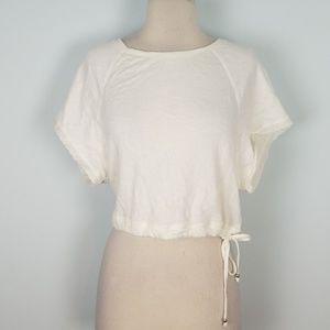 Victoria's Secret crop sweatshirt